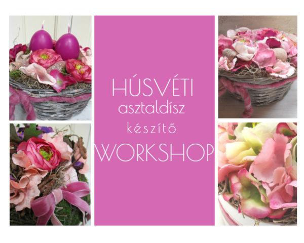 Húsvéti asztaldísz készítő workshop by Nonza