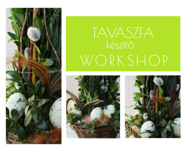 Tavaszfa készítő workshop by Nonza